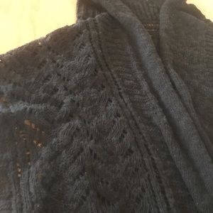Maurices Sweaters - Maurice's Black Vest; Size 2 (plus size)